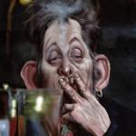 Shane McGowan by Caricaturist Niall O'Loughlin