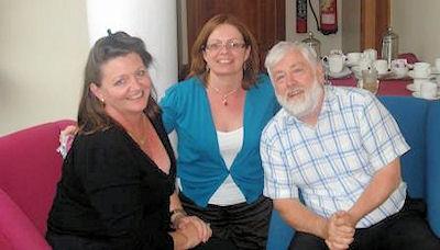 Judy Shinnick, Ann Brennan, Donal O'Braonain