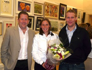 Darragh O'Brien TD, Ciara Peelo Olympic Sailor, Eoghan O'Brien at the opening