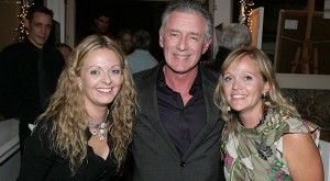 Denise Donnelly and  Deborah Donnelly (gallery owners with Mark Cagney who opened the exhibition