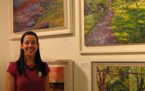 Niamh Slack at Art Ireland