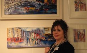 Mary Cahalan-Lee (Pixi) at Art Ireland