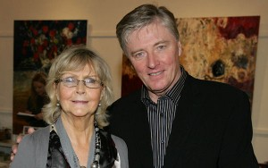 Clare O'Farrell with Pat Kenny