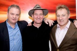 Paul Riordan - Bord na Mona, Jim Kavanagh artist, Eddie O'Sullivan  ex Irish Rugby Coach.