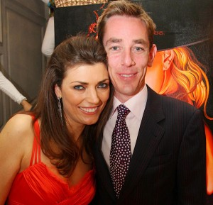 Chara Nagle and Ryan Tubridy