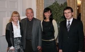 Ethna Murakami, Jimmy T. Murakami , Ágota Krnács, Ferenc Jári (Photo © Gábor Pusztai)
