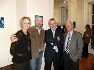 Louise Cody, John Nolan, Conor Kenny of Conor Kenny and Associates (who opened the show) and Pat Cody