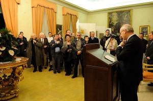 "Ambassador Noel Fahey opens ""Roma Antica"""