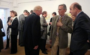 At the Anne Donnelly exhibition opening