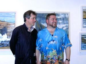Sebastian Barry opens Rod Coyne's exhibition
