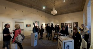 Kieran Crowley @ Powerscourt Gallery, opening night