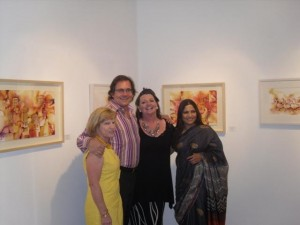 Jo Flannagan (New Zealand), Jeff Scholfield (USA), Judy Shinnick (Ireland), Preeti Kaur Anand (Pakistan)
