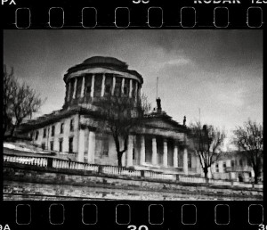 Nicholas Mackey; Four Courts Dublin; Silver photographic print; 73 x 80 cm
