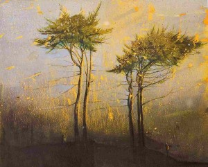 Elizabeth Magill; Blue Hold; Oil; 153 x 183 cm