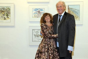 Paul & Anne Costelloe at the exhibition launch.(Photo: Anthony Woods)