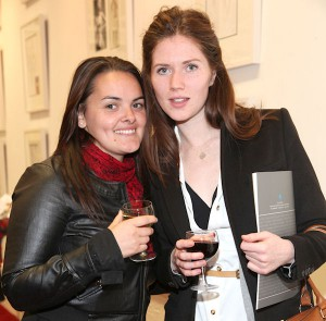 Amanda Di Pede & Aisling Kennedy at the exhibition launch.(Photo: Anthony Woods)