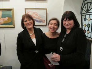 Simone, Jenny and Angel at the exhibition launch