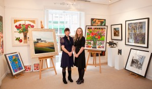 Deirdre Carroll & Denise Donnelly in the Doorway Gallery