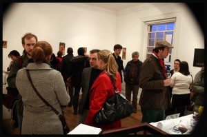 Exhibition opening (photo by Karol Liver)