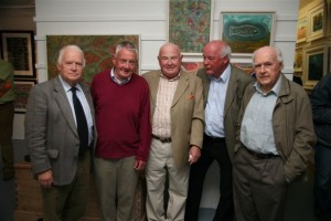 1 At the opening Oliver Moylan, Dessie O Malley, Dr Brian Maurer, Jerry Cahir and Dr D. Moylan.