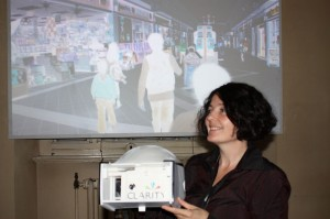 Artist Anne Cleary at Dublin Contemporary 2011