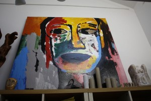 One of Jerry's paintings