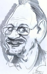Niall O'Loughlin Caricature