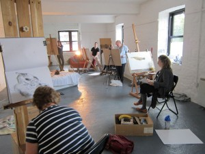 Abbey Rd Artists' Studios master class - Life Drawing