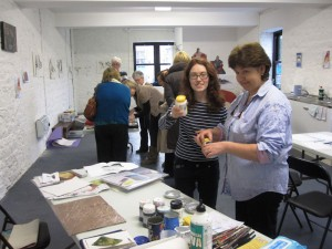 Participants at a recent open day at Athlone's Abbey Road Artists' Studios
