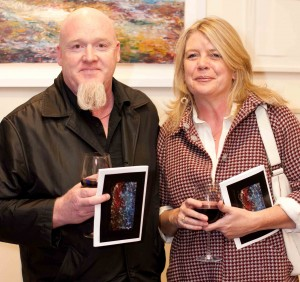 Paul and  Jenny Hughes at the Art Auction Launch