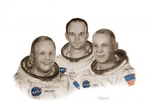 'Astronauts Apollo 11' - Pervaneh Matthews