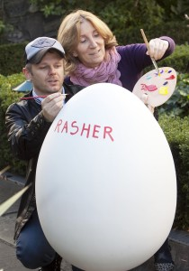 Artist Rasher with Egg