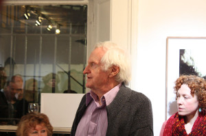 John Boorman opening the exhibition