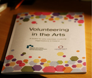 'Volunteering in the Arts' toolkit (photo Liam Madden)
