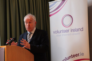 Minister for Arts, Heritage and Gaelteacht Jimmy Deenihan TD (photo Liam Madden)
