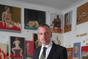 Artist James Hanley RHA who will lead a team of artists that includes Michelle Boyle, Fintan Mahon, Mary Kelly and Alan Daly, who will interact with visitors.