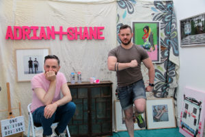 Adrian+Shane in their studio (photo Liam Madden)