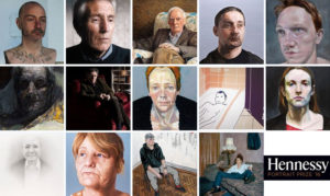 Final entries for the Hennessy Portrait Prize 2016