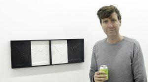 Artist Ulrich Volg (photo Liam Madden)
