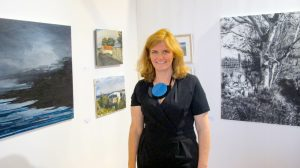 Rosemarie Noone from Claremorris Gallery (photo Liam Madden)