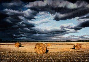 Haystacks No.2 - An Irish Sky, Never a Dull Moment