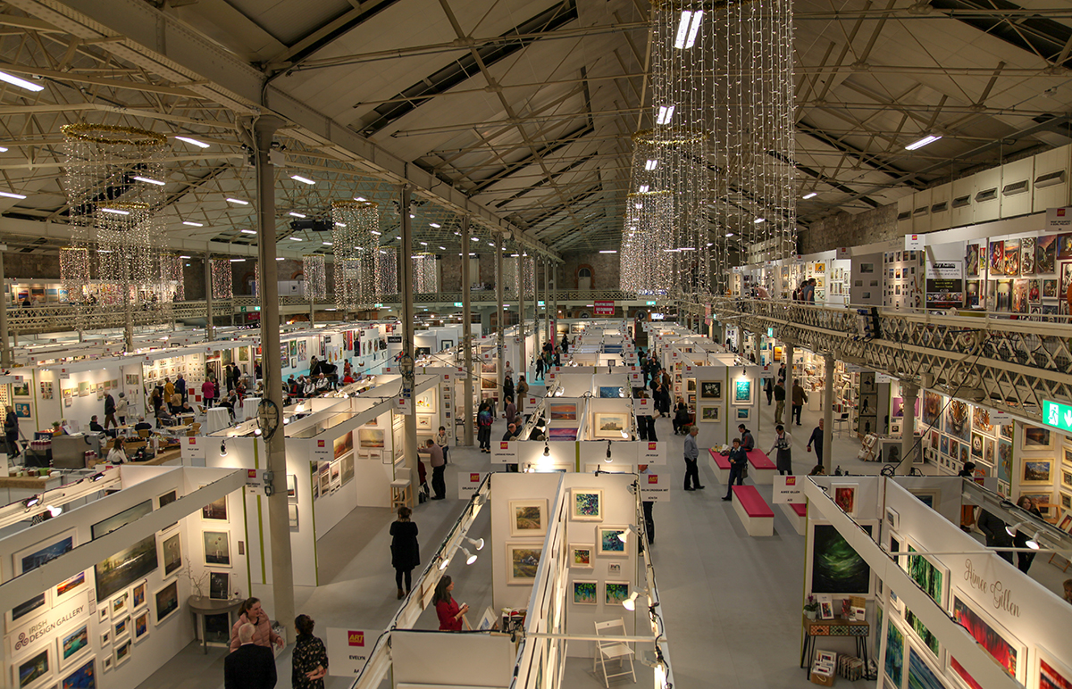 Art Source 2018 in the RDS.